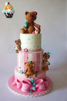 Baby Bears - Cake by Bolos para Amigos by Tânia Maroco