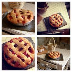 Cherry pie by Kim Saulter (It's a Miniature Life)