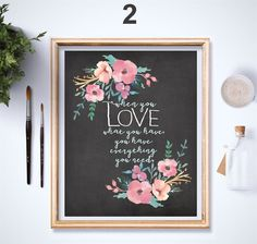 BUY ONE GET ONE FREE!Love is always in season, and our artisan L-O-V-E print collection can  adorn your home each and everyday of the year! They create a perfect addition for your collage and gallery walls.Everyone loves adorable decor at Valentines and a cute and thoughtful gift of heart!IMPORTANT DETAILS: Materials: Archival Paper, Archival Pigments, Original Art & Illustration, LoveThe frames and other props are not included.Created in hand done art & script on a faux chalkboard bac...
