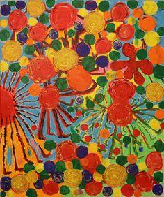 Autumn / Maarit Korhonen, acrylic, pastel, canvas, 73cm x 61cm Dark Paintings, Original Paintings, Online Painting, Artwork Online, Dancer In The Dark, Autumn Painting, Original Art For Sale, New Art, Saatchi Art