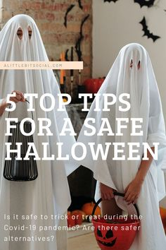 Is it safe to trick or treat during the Covid-19 pandemic? Are there safer alternatives? Safety guidelines have warned us not to take part in the annual Halloween tradition of trick or treating due to the risk of infection. With the risks in mind you may be looking to spend Halloween a different way this year, here are five top tips for a safe Halloween.