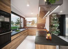 Kitchen Room Design, Outdoor Kitchen Design, Modern Kitchen Design, Kitchen Interior, House Extension Design, House Design, Beautiful Dining Rooms, Home Kitchens, Construction