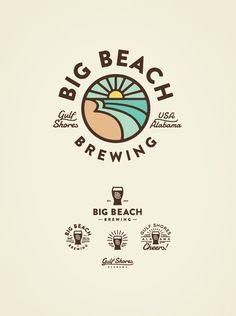 Big Beach Brewing Logo by Jared Jacob