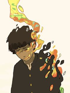 ONE's webcomic commenced their distribution on August on Ura On Many experts Mob Psycho 100 Anime, Mob Physco 100, Vent Art, Dibujos Cute, Demon Slayer, You Draw, Character Design Inspiration, Aesthetic Art, Drawing Reference