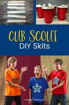 How to DIY Fun and Creative Cub Scout Skits Check out this super fun way for your Cub Scouts to create their own Cub Scout skits! Super easy for all ranks--Tiger, Wolf, Bear, Webelos, and Arrow of Light! Cub Scout Law, Cub Scouts Wolf, Tiger Scouts, Scout Mom, Girl Scouts, Cub Scout Skits, Cub Scout Games, Cub Scout Activities, Cub Scout Popcorn