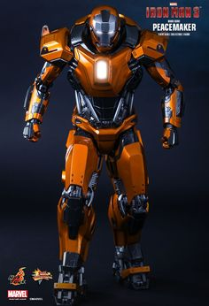 Hot Toys : Iron Man 3 - Peacemaker (Mark XXXVI) 1/6th scale Collectible Figure