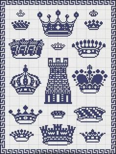Image result for cross stitch pattern heraldry