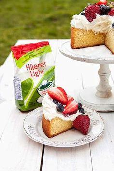 Divino Macaron: Pastel Esponjoso de Vainilla y Limón - Probamos Hileret Light?!