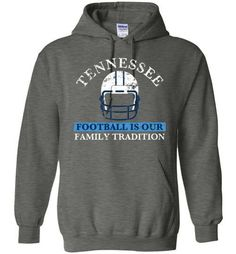 Tennessee Football Family Tradition Hoodie