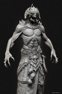 Demon_Lich, Bruno Melo on ArtStation at http://www.artstation.com/artwork/demon_lich