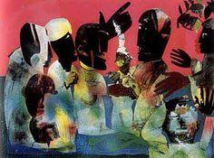 Romare Bearden Foundation Website - The Art of Romare Bearden: Collage - Carolina Shout, 1974
