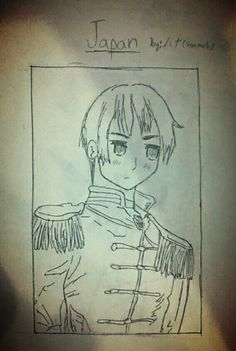 this is japan from hetalia. I forgot his name