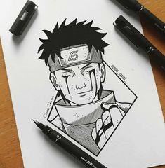 Otaku Anime, Anime Naruto, Naruto Shippuden Sasuke, Naruto Art, Naruto Sketch Drawing, Naruto Drawings, Anime Drawings Sketches, Anime Sketch, Naruto Tattoo