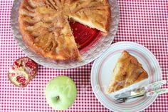 Εύκολη μηλόπιτα αναποδογυριστή χωρίς μίξερ