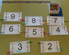 Brojevi do 20 Discovery Bottles, Educational Crafts, Montessori Activities, Eyfs, Math Classroom, Toddler Preschool, Teaching Math, Math Centers, Childcare