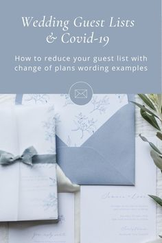 Having to reduce your wedding guest list is difficult to do, read our tips on how to go about it. And we're sorry you're having to change your plans, we know it's a hard decision and not easy to do! Wedding Guest List, The Wedding Date, Our Wedding Day, Romantic Wedding Stationery, Wedding Invitation Design, Pastel Wedding Colors, Wedding Stills, Event Signage, Wedding Envelopes