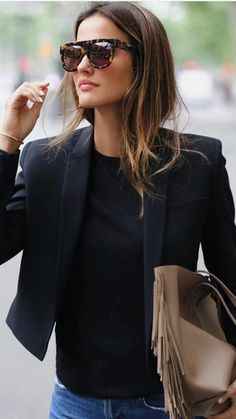 ew blazer obsession of the season by Fashion Tips For Women, Passion For Fashion, Womens Fashion, Look Jean, Casual Outfits, Fashion Outfits, Looks Chic, Lookbook, Mode Inspiration