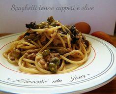 Spaghetti+tonno+capperi+e+olive