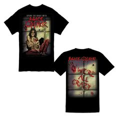 Alice Cooper - Spend The Night Straight Jacket  - T-Shirt