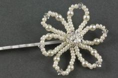 Mini Felicity Pearl Floral Hair Accessories