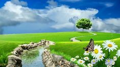 3D Nature Background Video, Beautiful Flowers Scenery - 815 Frame Download, Download Hair, Download Video, Photo Background Images, Photo Backgrounds, Green Screen Backgrounds, Video Editing Apps, Video Effects, Zindagi Quotes