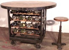 Wine Tasting Table