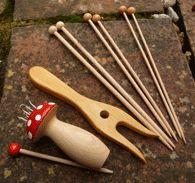 Knitting fork set