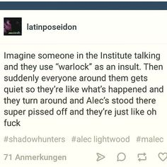 You're screwed <<<< I can see this scene in my head and it's so beautiful oh my gosh (it is totally unrelated to the TV show which I was okay with originally but hate now)