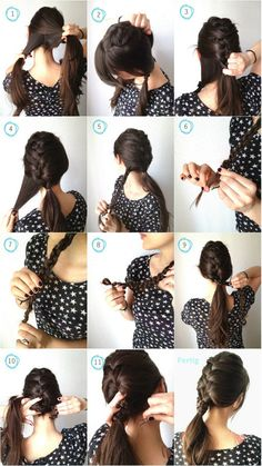 12 Romantic Braided Hairstyles With Useful Tutorials - Pretty Designs