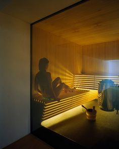 Low EMF Infrared Sauna - Advantages & Available Models Home Spa Room, Spa Rooms, Sauna Steam Room, Sauna Room, Sauna Design, Home Gym Design, Saunas, Thermal Hotel, Outdoor Sauna