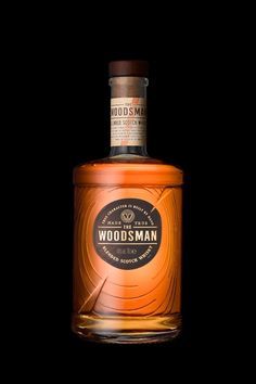Not your everyday 'traditional' Scotch NPD, a category disruptor with a wood-driven flavor character. Whiskey Label, Cigars And Whiskey, Whiskey Drinks, Whiskey Bottle, Alcohol Bottles, Liquor Bottles, Wine Design, Bottle Design, Fun Drinks