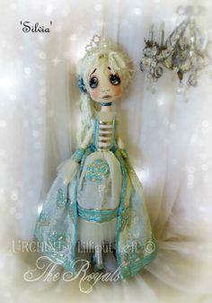 'The Royals' Urchin Art Doll Silvia by Vicki at Lilliput Loft