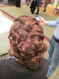 Wedding hair . Prom hair  done by Cassandra at  : The Galleria Salon & Day Spa  Laconia, NH 03276   www.facebook.com/thegalleriasalon
