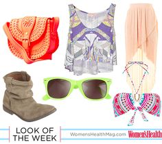 #Coachella-inspired Look Of The Week from our senior fashion editor!