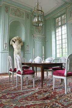 Château de Barly, près d'Arras, construit sous Louis XVI dans les années 1780