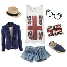 British. Want soooo bad! Except those shorts are horrendous! :P