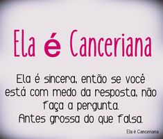Canceriana é assim !!! Portuguese Quotes, Zodiac Sign Facts, In My Feelings, Pisces, Horoscope, Bane, Humor, This Or That Questions, Cancer Zodiac Signs