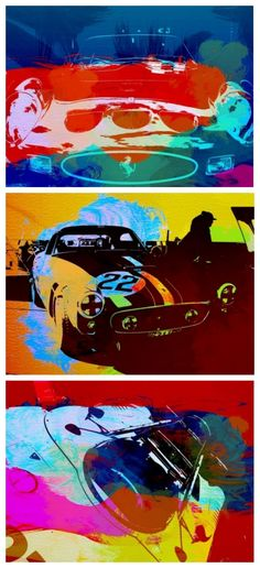 Legendary car watercolors. This is a MUST for any car enthusiast. What are you waiting for...  #coolhunter #autoart
