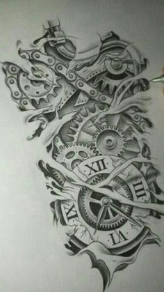 Tattoo Finka time