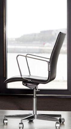 Oxford - 3293, Medium back, front upholstered - Fritz Hansen
