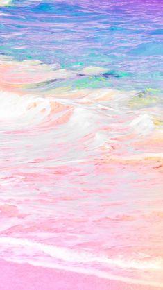 Matt Crump photography iPhone wallpaper Pastel Bermuda unicorn ocean beach