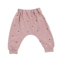 New in : emile et ida antique pink crowns joggers