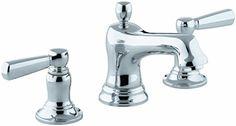 KOHLER K-10577-4-CP Bancroft Widespread Lavatory Faucet, Polished Chrome