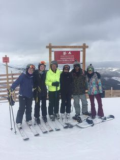 Very much enjoyed our vacation in the mountains! #family #skiing