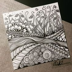 Zentangle 062816. Welcome to visit my FB Fan Page…