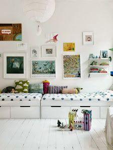 Inspiracion para habitaciones infantiles