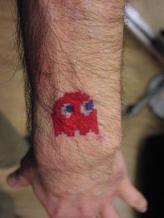 Blinky Sharpie Tattoo