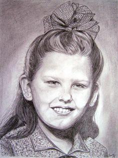 Portrét dívky - Pencil