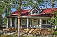 Kreivi-talo, Kokkola - Nordland Houses, Cabin, Mansions, House Styles, Home Decor, Homes, Decoration Home, Manor Houses, Room Decor