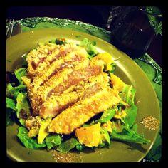 Recipe: Sesame Crusted Tuna w Oranges,Avocados